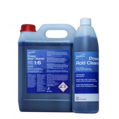 Очиститель конденсаторов Neoclima Power Acid Cleaner 1 л, спрей