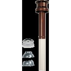 Комплект вертикального коаксиального дымохода Immergas 60/100 мм (конденс, красный) (3.016833)
