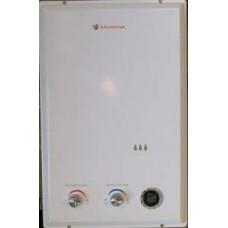 Газовая колонка Savanna 10л (белая, с LCD) турбированная