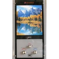 Газовая колонка Savanna 10л стекло LCD-горное озеро