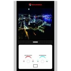 Газовая колонка Savanna 10л стекло LCD-ночной город