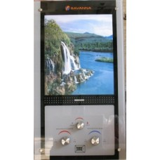 Газовая колонка Savanna 10л стекло LCD-водопад