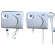 Водонагреватель проточный ATMOR AquaPlus 5(2+3)кВт Кран+Душ